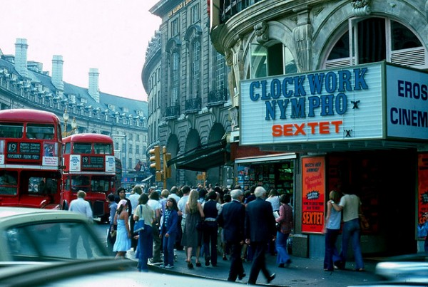 London 1970s cinema