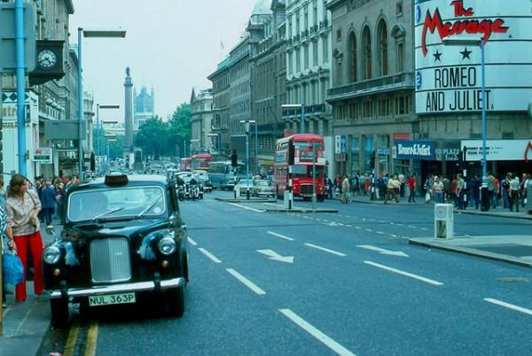 Regent Street London 1970s