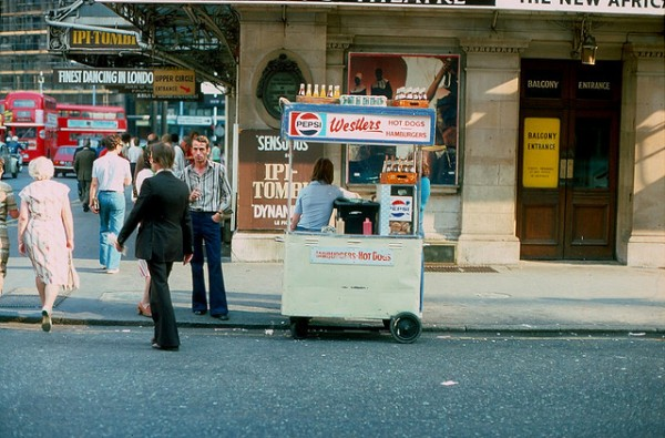 streets of London 1970s