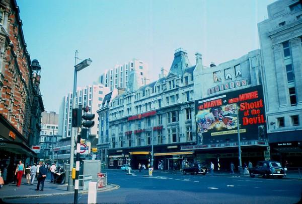 London street life 1970s