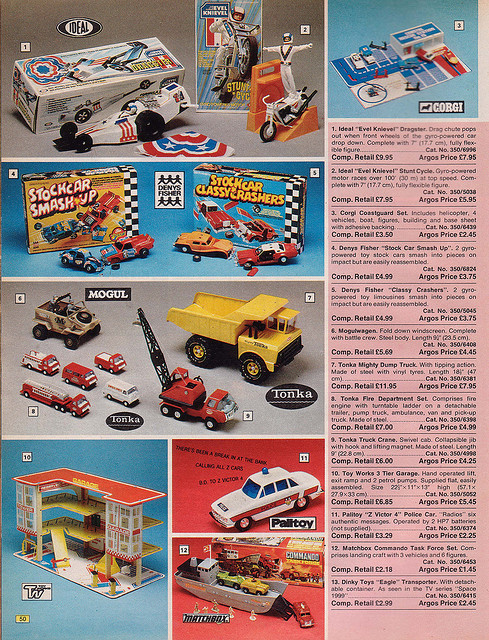 Argos 1976 Catalogue Toys