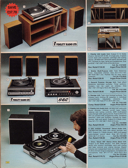 Argos 1976 Record Players