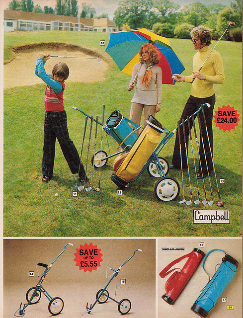 Argos Catalogue Golf 1976