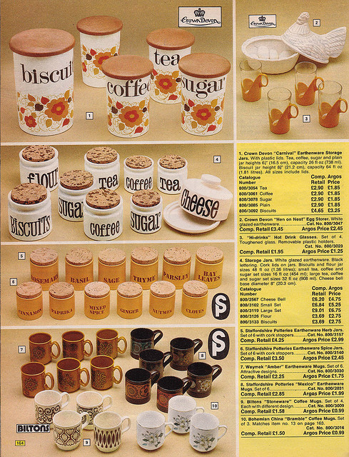 Argos Catalogue Kitchen 1976