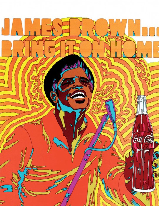 James Brown Coca Cola
