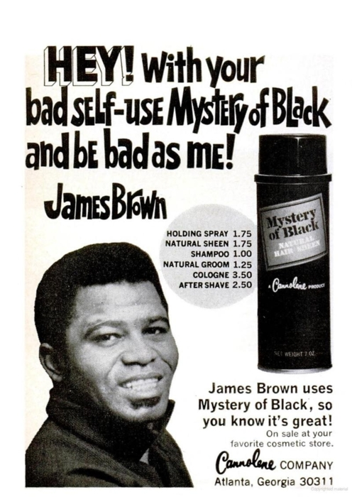 James Brown Mystery of Black