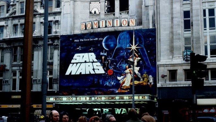 Star Wars 1977 cinema London