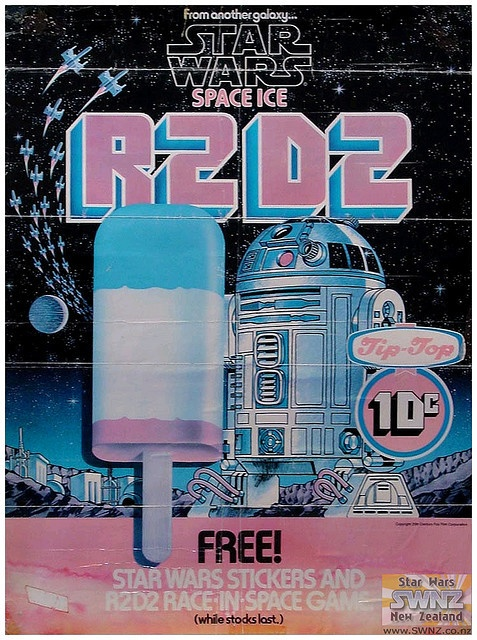 Star Wars Ice Lolly