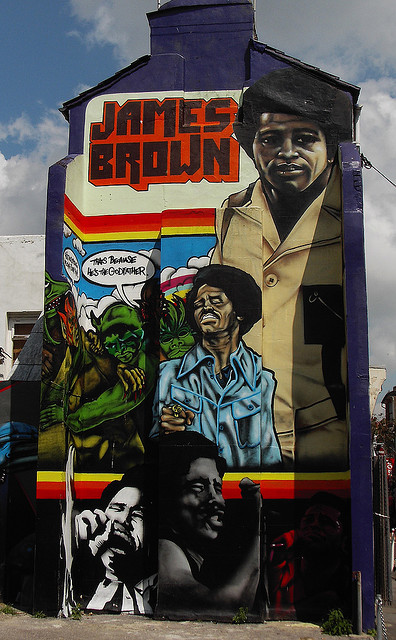 James Brown Street Art
