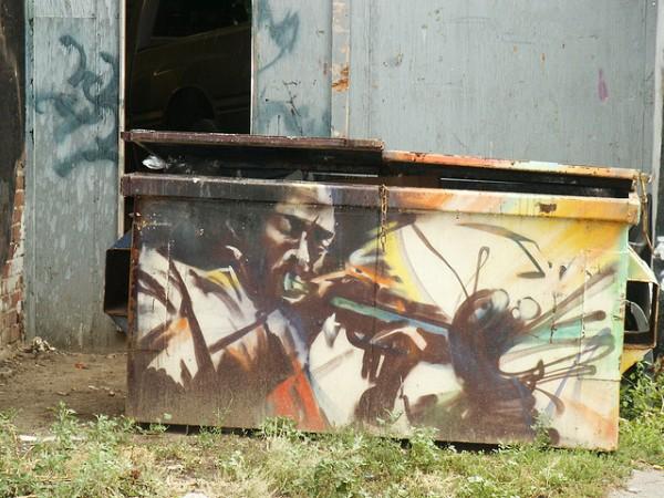Jazz Street Art