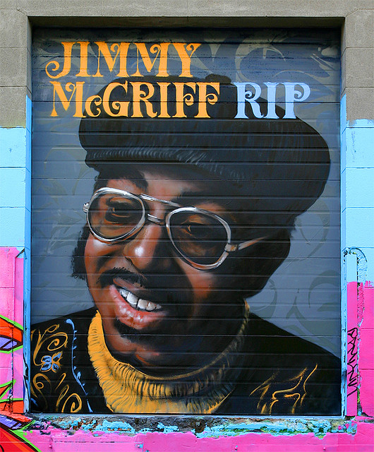 Jimmy McGriff Street Art