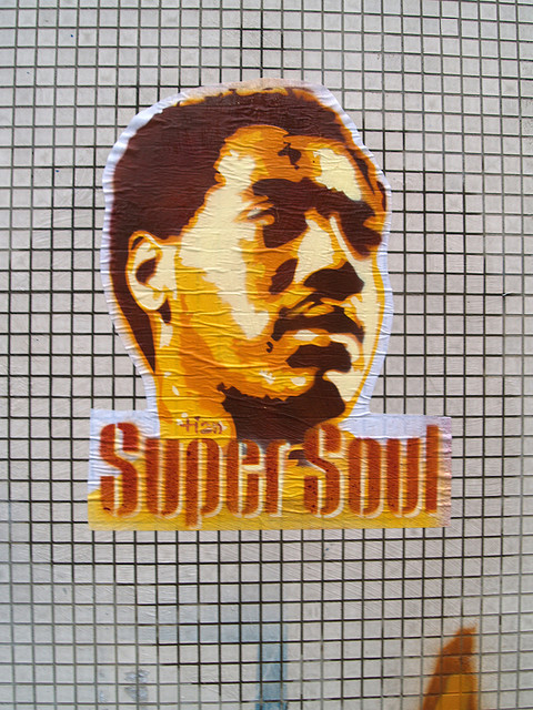 Otis Redding street art