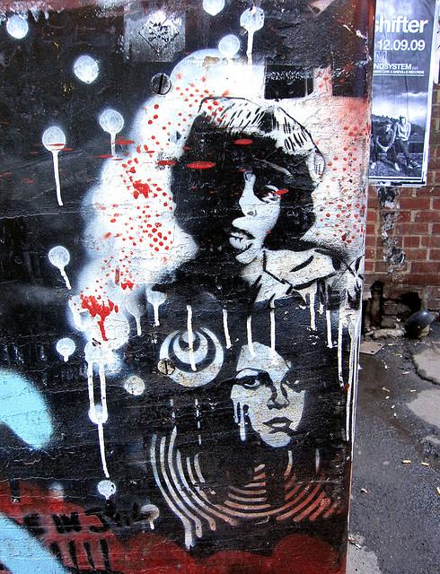 Sly Stone Street Art