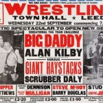 Good Afternoon Grapple Fans – British Wrestling Posters