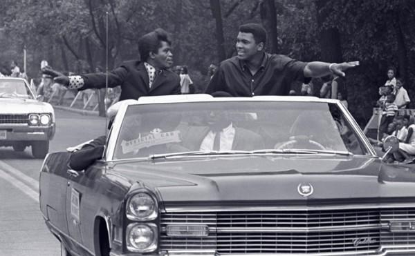 Ali and James Brown