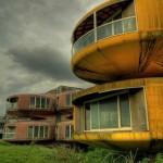 Abandoned Futuristic Houses