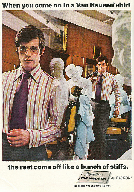 1970s Shirt Ads