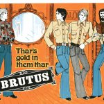 1960s and 1970s Brutus Advertising
