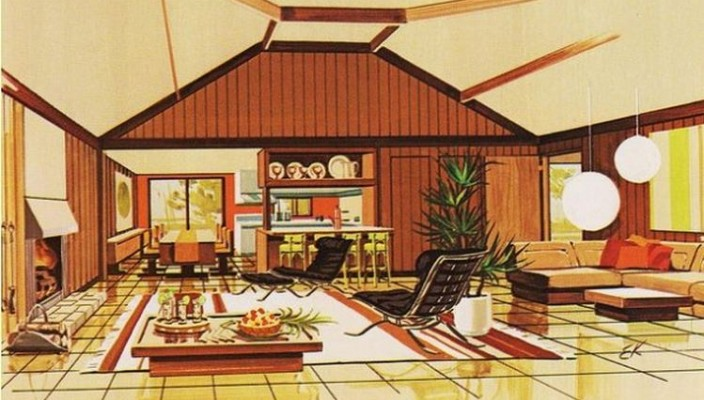 popular science leisure homes book voices of east anglia - 70s Home Design