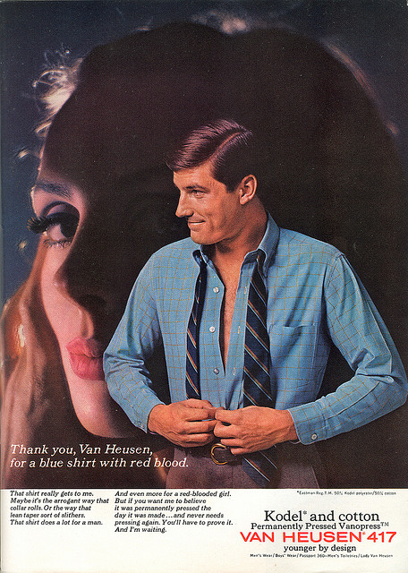 Button Down Colour Advert