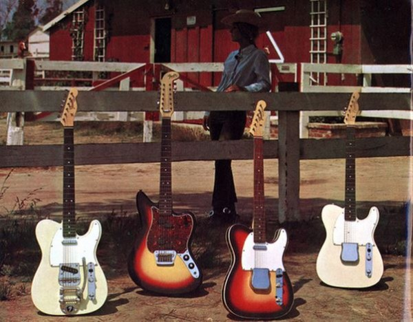 Fender Catalogue 1968 001