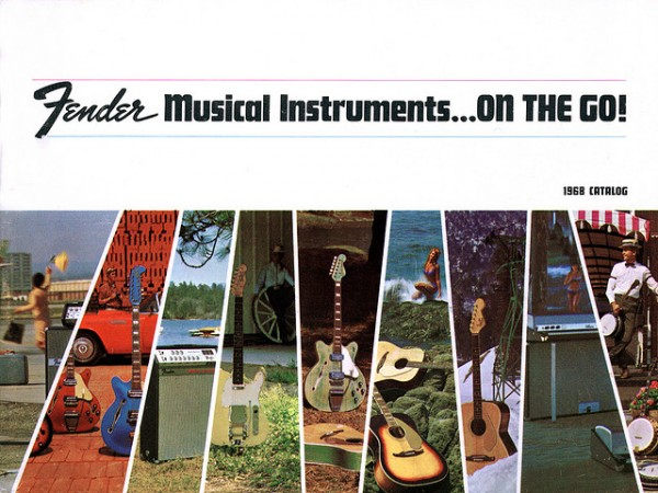Fender Catalogue 1968