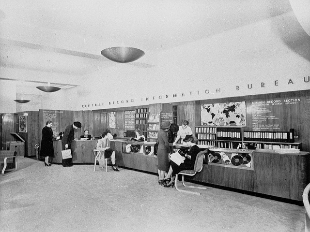 HMV Central Records Information Bureau 1950s