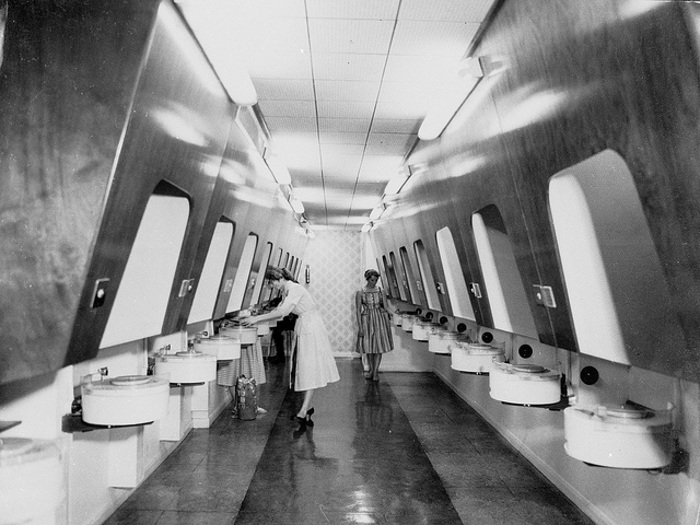 HMV Record Listening Booths
