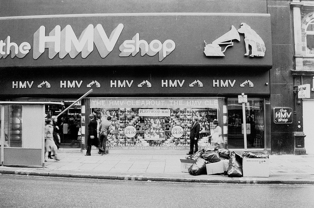 HMV in the late 1970s