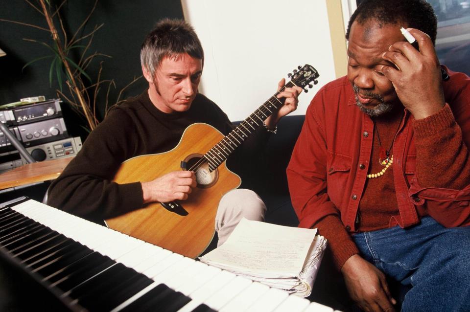 Paul Weller and Terry Callier
