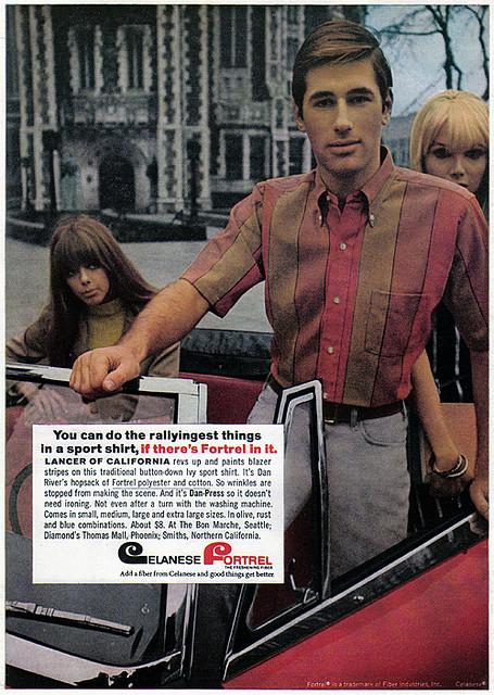 Shirt ad 60s