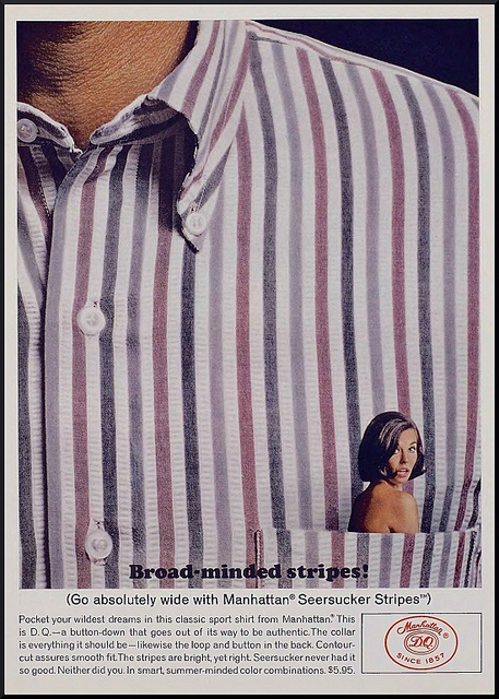 shirt advert 1960s