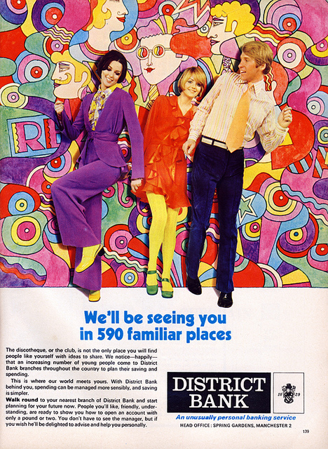 Psychedelic Bank Advert