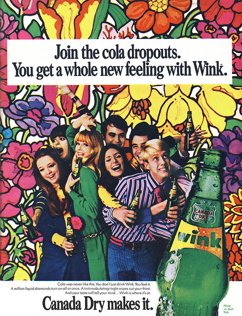 Psychedelic Drink  Advert