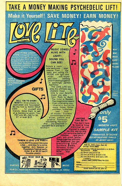 Psychedlic Love Lite Advert