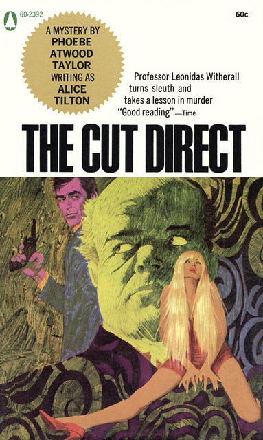 Robert McGinnis Book Cover  - The Cut Direct