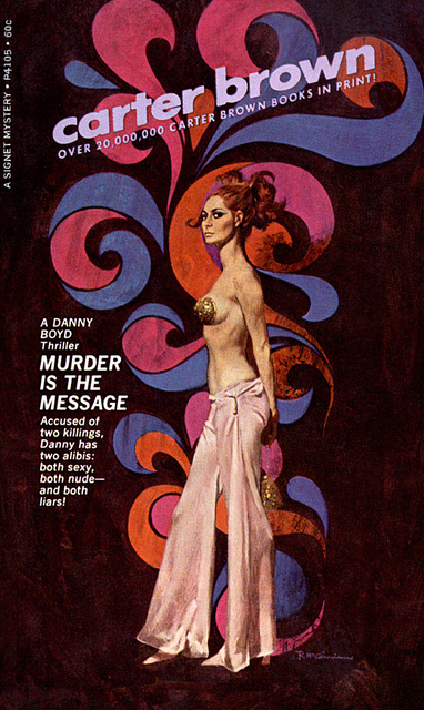 Robert McGinnis Book Cover