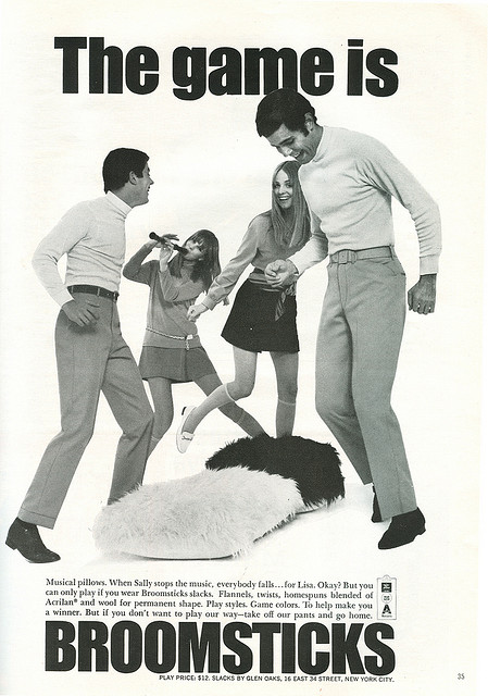 1960s Broomsticks Jeans Advert
