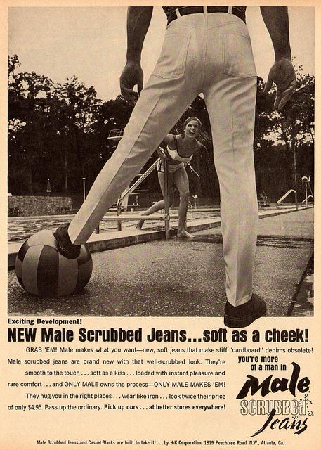 1960s Jeans Advert