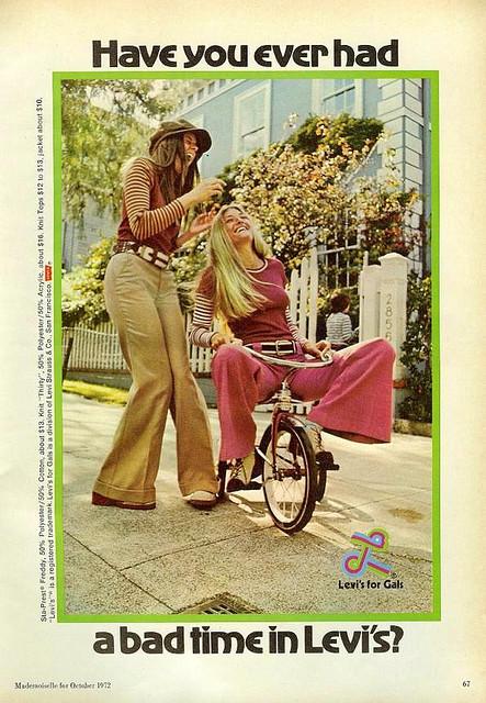 1970s Levis Advert
