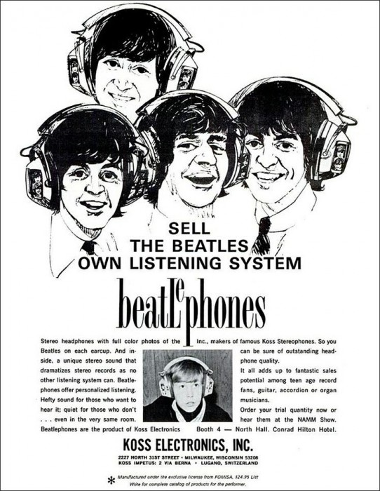 Beatles Headphones