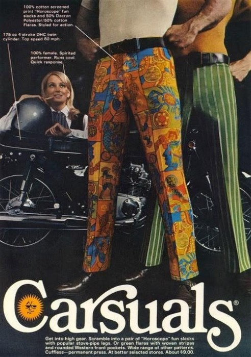 Carsuals Trouser Advert