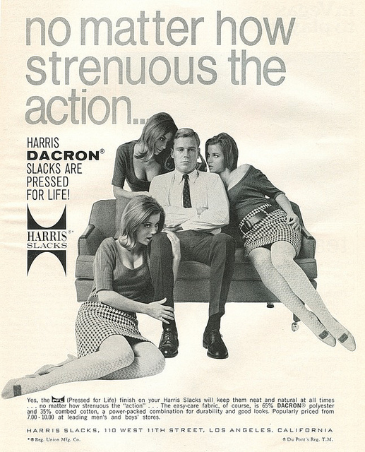 Dacron Trousers Advert