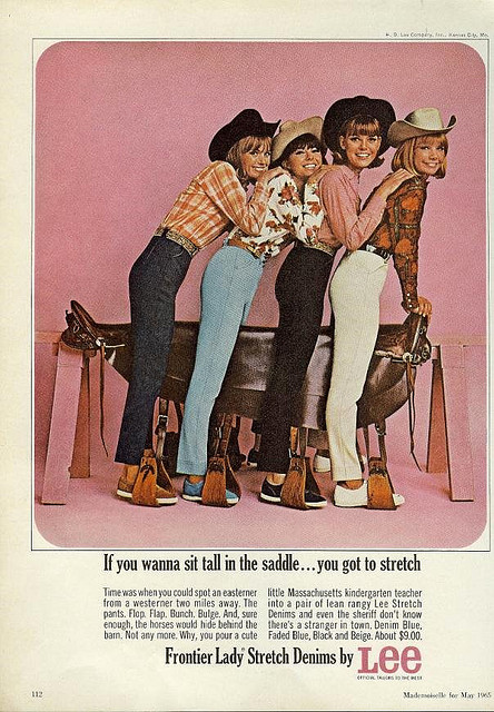 Ladies Lee Jeans Advert