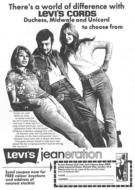 Levi Cords Advert