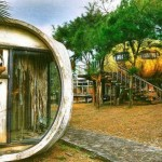 Abandoned UFO Houses in Taiwan