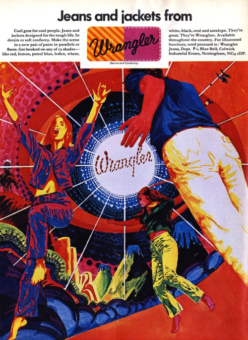 Wrangler Jeans Advert