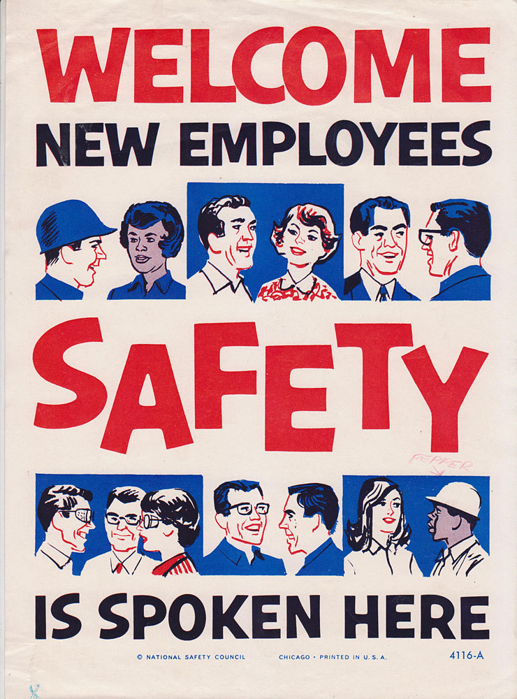 Twenty Health And Safety Posters Voices Of East Anglia