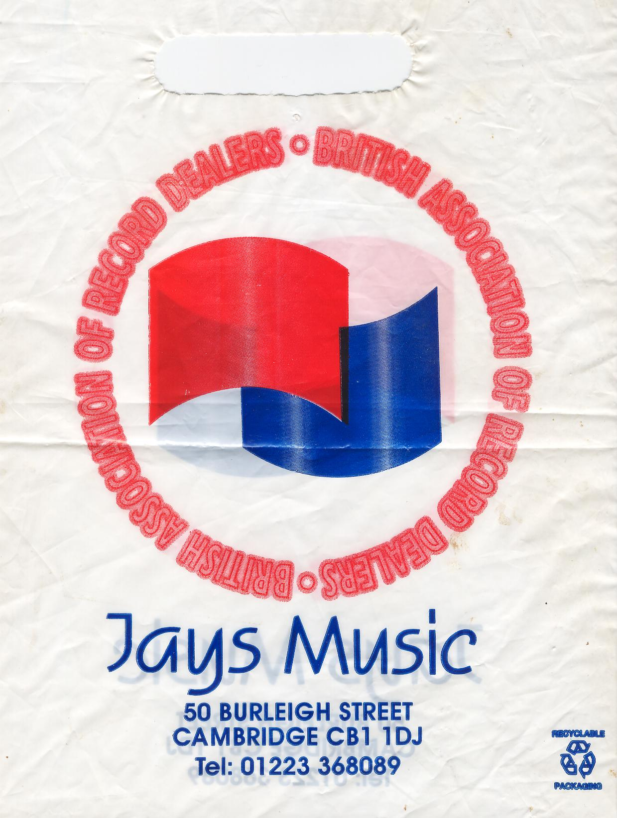 Jays Music Record Shop Cambridge