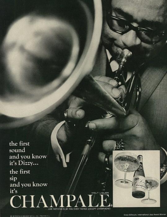 Dizzy Gillespie Advert